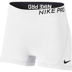 "Nike Frauen Pro 3 ""Short-grau-l Cute Nike Outfits, Cute Lazy Outfits, Sporty Outfits, Athletic Outfits, Gym Outfits, Retro Outfits, Nike Spandex Shorts, Nike Pro Shorts, Jogger Shorts"