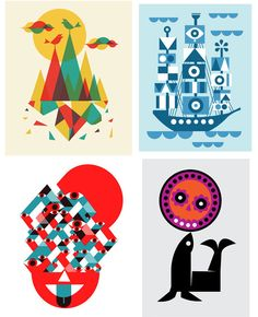 Art Prints by Dan Stiles << Illustration Friday
