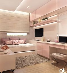 146 best teen bedroom ideas for girl and boys 47 mantulgan.me Wonderful Teen Bedrooms Bedroom boys Girl ideas mantulganme Teen Girl Bedroom Designs, Room Ideas Bedroom, Small Room Bedroom, Small Rooms, Bedroom Decor, Bedroom Boys, Decor Room, Small Space, Wall Decor