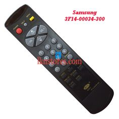 Buy remote suitable for Samsung TV Model: 3F14 00034 300 at lowest price at LKNstores.com. Online's Prestigious buyers store.