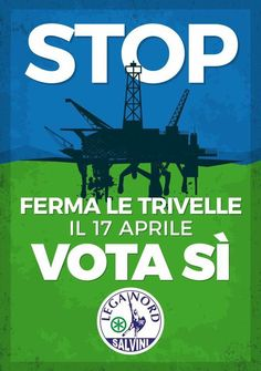 "Lega Nord Siena su Twitter: ""#Italia può puntare ad #autonomiaenergetica. Se avessimo #petrolio, saremmo sceicchi.…"