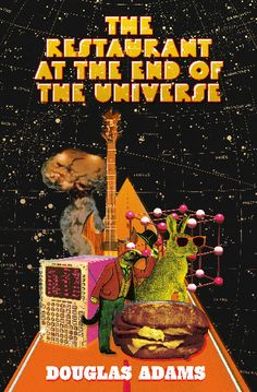 Crush | The Restaurant at the End of the Universe by Douglas Adams (Concept Cover)