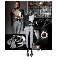"""""""Glam Rock Watches"""" by lacas on Polyvore"""