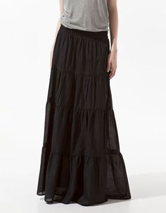 PANELLED SKIRT (so what if I have 2 similar skirts already? lol)    $39.90
