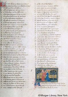 Roman de la Rose, MS G.32 fol. 15r - Images from Medieval and Renaissance Manuscripts - The Morgan Library & Museum
