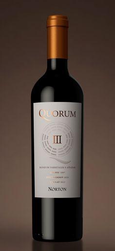 NORTON | Quorum III on Behance #taninotanino vinos inteligentes