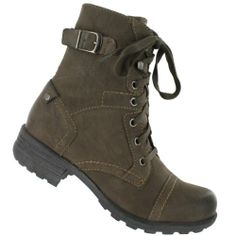 Cool SoftMoc Women's Benbrook Lace Up Military Boot