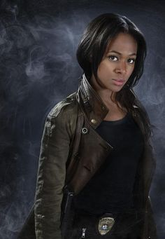 "Nicole Beharie as Abbie Mills from the TV Show ""Sleepy Hollow""."