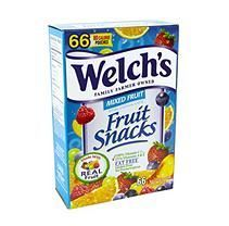 Welch's Mixed Fruit Snacks, Box Of 66 Pouches Gummy Fruit Snacks, Yummy Snacks, Healthy Snacks, Fruit Smoothies, Healthy Smoothies, Welches Fruit Snacks, Snack Box, Snack Pack, Fruit Box