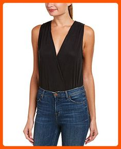 BCBGeneration Women's Snap Closure Bodysuit, Black, Medium - All about women (*Amazon Partner-Link)