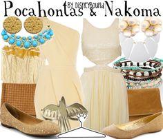 Pocahontas & Nakoma by DisneyBound