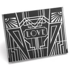 Great Gatsby it's an art deco inspired black wedding guest book with silver or gold foil art deco design. Perfect for Art Deco and Great Gatsby inspired weddings and events. Complete your Art Deco The Art Deco Wedding Theme, Art Deco Party, Gatsby Theme, Gatsby Party, Great Gatsby Wedding, Wedding Guest Book, Wedding Ideas, 1920s Wedding, Wedding Stuff