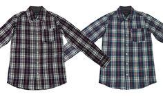 Hemd Shirt blau o. burgund kariert Gr. 140 152 164 176 NEU Jungenhemd BLUE SEVEN