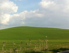 I think that Tuscany should ask some money to Windows. On the road from Montepulciano to Pienza, and this is not a computer desktop. (photo by Locanda San Francesco #boutiquehotel + www.locandasanfrancesco.it)