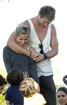 Chris Hemsworth and Elsa Pataky have proved they don't need to be glammed up on the red carpet to be one of the sexiest couples of Hollywood. Chris Hemsworth Family, Hemsworth Brothers, Chris Hemsworth Thor, Elsa Pataky, Australian Actors, Family Days Out, Twin Boys, Marvel Actors, Celebrity News