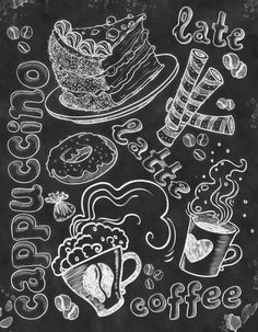 Wall Art  Kitchen  Chalkboard Chalkboard by TimelessMemoryPrints, $20.00