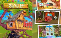 Treehouse Club Toys TutoTOONS Kids Educational  Games Android İos Free G...