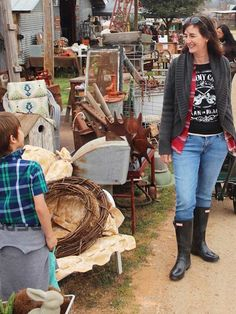 An insider view on how to shop barn sales, flea markets, and trade day markets that will help you find the best items and the right prices./