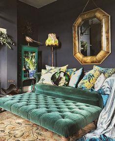 Stylish Bohemian Home Decor IdeasNew Stylish Bohemian Home Decor Ideas My Living Room, Living Spaces, Bohemian Furniture, Bohemian Decor, Home Renovation, Interior Inspiration, Bedroom Decor, House Design, Interior Design