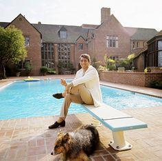 Dean Martin at home 1974