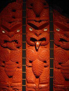 Maori Treasures Gallery :: Auckland Museum, New Zealand.