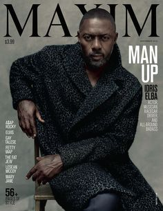 #IdrisElba just made #hot, #sexy history on the cover of @maximmag | He has successfully gone where no man has gone before & he has done it in leopard print.   Elba is officially the first dude to cover #MaximMagazine, a mag that traditionally looks as hot as hot women and hotter then your hot fantasy. He's also the first man, or human, to wear clothes on Maxim. (Okay, I don't have hard evidence of that, but the fact that he's not topless or in skimpy lingerie is notable.) @asifahsankhan…