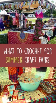 What To Crochet For Summer Craft Fairs | Gleeful Things                                                                                                                                                                                 More