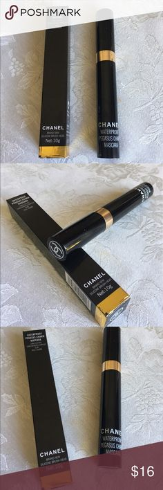 Chanel Waterproof Black Mascara Chanel Waterproof Long Lasting Black Mascara New CHANEL Makeup Mascara