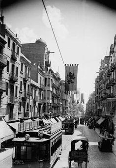 Gran de Gràcia, any 1935.