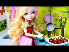 ▶ How to Make Doll Candy Apples - YouTube