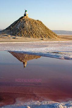 Salt Lake Chott-El Jerid Suolajärvi,Tunisia Africa      Photo By Aili Alaiso Finland