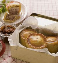 Recipes include salt 'n' peppered sausage rolls. The perfect picnic or p… Recipes include salt 'n' peppered sausage rolls. The perfect picnic or party food, sausage rolls are incredibly easy to make, especially when using bought puff pastry. British Baking Show Recipes, British Bake Off Recipes, Scottish Recipes, Great British Bake Off, Irish Recipes, Pie Recipes, Baking Recipes, Pastries Recipes, English Recipes