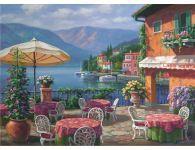 Puzzle Anatolian Café en el Lago de 1000 Piezas