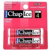 Chap Ice Premium Lip Balm Cherry SPF 4 => See this awesome image : Skin care Lip Care, Face Care, Your Lips, Vitamin E, Sunscreen, Aloe, Health And Beauty, The Balm, Moisturizer
