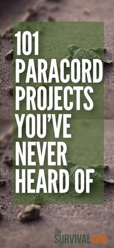 Here are 101 Paracord projects all in one place with video demonstrations. Go beyond the Paracord bracelet and dog collar and see all the things you can make with 550 cord and parachute cord. Great for camping, DIY, survival and prepper, or just casual craft project. #paracord #diy #survivalist