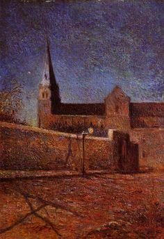 Gauguin. Vaugirard church, 1879. Groningen Museum.  www.artexperiencenyc.com