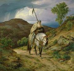 Carl Friedrich Lessing - Heimkehrender Kreuzritter