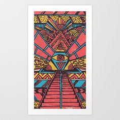 Horus+Art+Print+by+Maximilian+San+-+$14.00