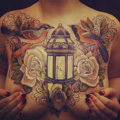 Amazing chest piece by Antony Flemming @antonytattoo #inked #inkedmag #tattoos by _lisamariewinchowski, via Flickr