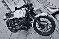 Vintage White Bmw R100S