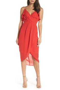 Ruffle Tulip Hem Dress by on Tulip Skirt, Tulip Dress, Nordstrom Dresses, Tulips, Ruffles, Bodice, Wrap Dress, My Style, Wedding Dresses