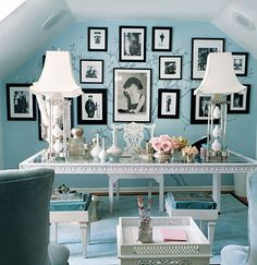 luv, luv, luv Tiffany inspired office