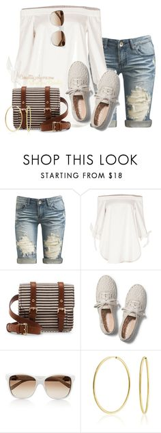"""""""Boardwalk Chic"""" by casuality ❤ liked on Polyvore featuring Arden B., TIBI, Sole Society, Keds, Gucci and Bling Jewelry"""