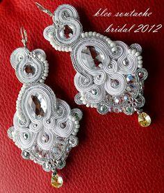 soutache wedding earrings
