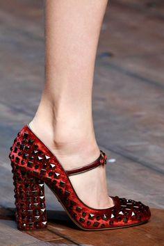 En Güzel Bayan Ayakkabı Modelleri 2014/2015 Sonbahar Kış - Dolce Gabbana