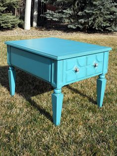 Just Another Hang Up: Refinishing an End Table...