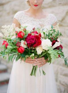 Scegli un bouquet da sposa di peonie 2017: talmente bello che non vorrai 'lanciarlo' Image: 18