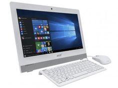 "Computador All in One Acer Aspire Z1 Intel Core i3 - 4GB 1TB LED 19,5"" Windows…"