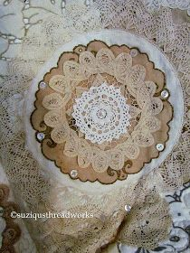 Hello dear blogging friends!   Just before Easter I showed you an image of a new Lace and Doily Throw I was starting to ...