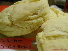 A gluten-free baking powder biscuit recipe that not only doesn't fall apart, but tastes amazing!
